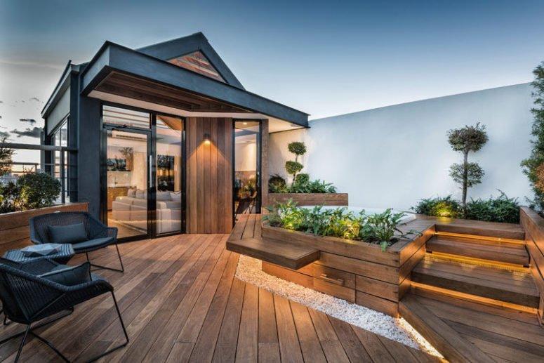 Membuat Rooftop Rumah Minimalis Gnet